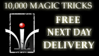 The Merchant of Magic Offering over 10000 magic tricks with free next day delivery
